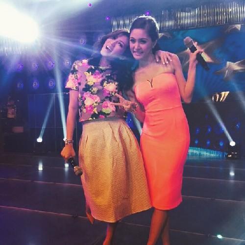 PHOTOS: Kwelang tambalan nina Alex at Kim sa Showtime