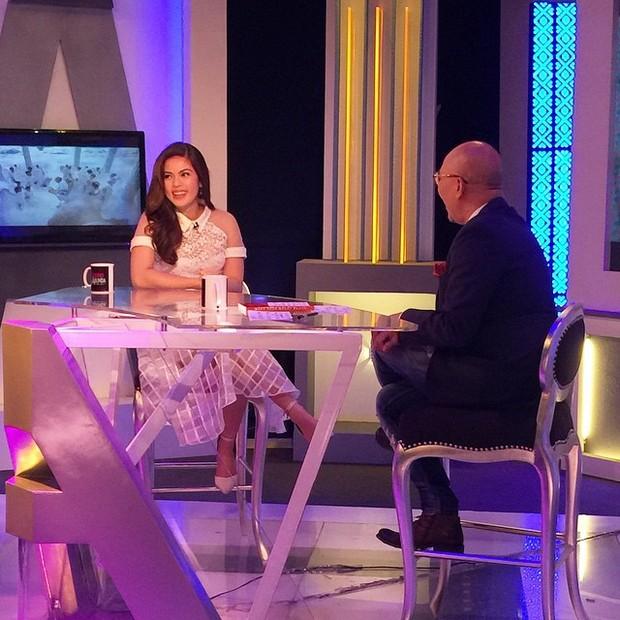 PHOTOS: Beautiful inside and out Shaina Magdayao on Aquino & Abunda Tonight