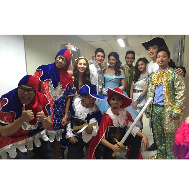 PHOTOS: It's a fairytale kind of day on It's Showtime