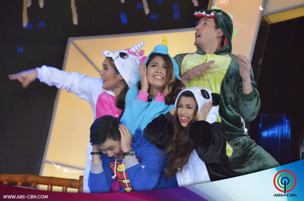 PHOTOS: Lip Swak battle with the stars of Nasaan Ka Nang Kailangan Kita and Pasion de Amor