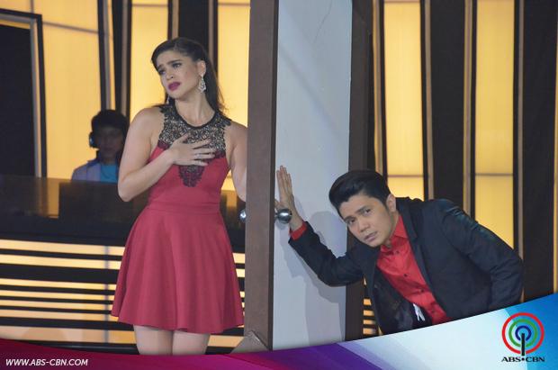 PHOTOS: Vhong-Anne tandem thrills madlang Araneta