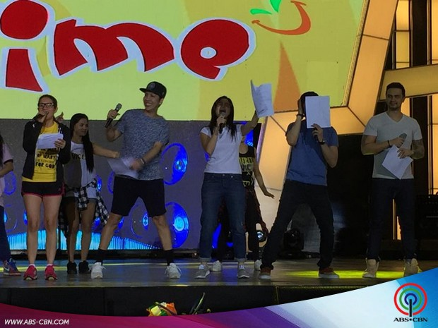 It's Showtime Biyaheng Biñan: Rehearsals and Backstage