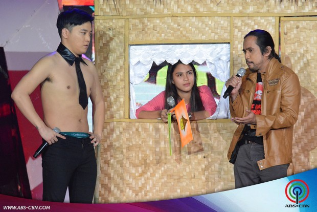PHOTOS: Jhong and Ryan compete to win the Ms Puto Binan's heart