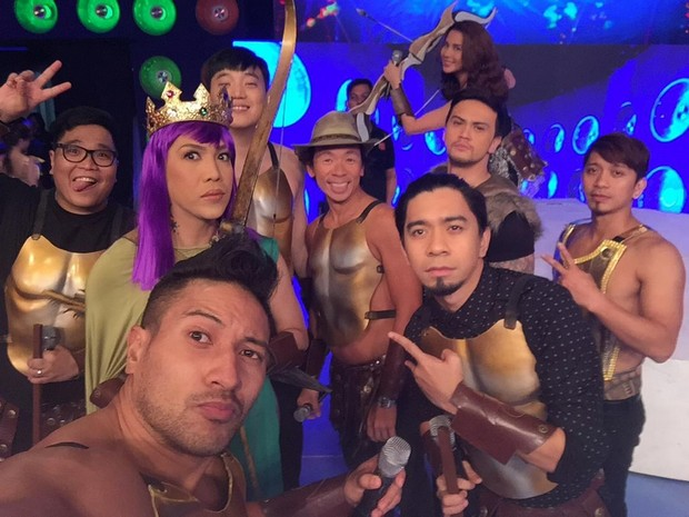 LOOK: It's Showtime hosts in Clash of Clans-inspired costumes