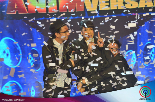 CAPTURED ON CAM: Winning moments of It's Showtime Magpasikat 2015 champion Vice, Jugs and Teddy