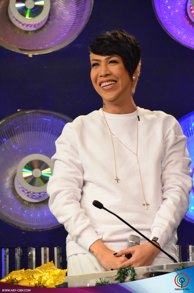 Vice Ganda's new Unkabogable look
