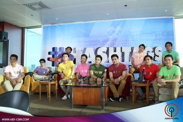 Meet It's Showtime's new boy group Hashtags