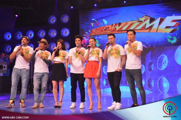 PHOTOS: It's Showtime hosts, nagpasalamat sa mga Kapamilya