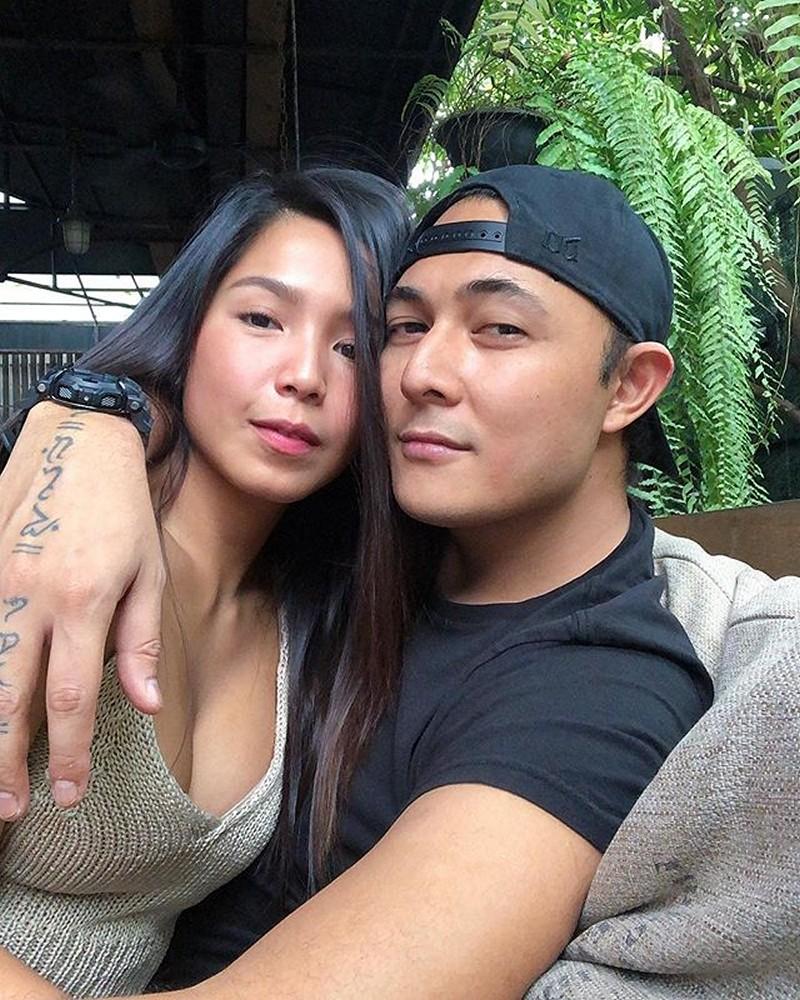 """Former Girltrend Dawn Chang kasama ang """"Bubba"""" ng buhay niya"""