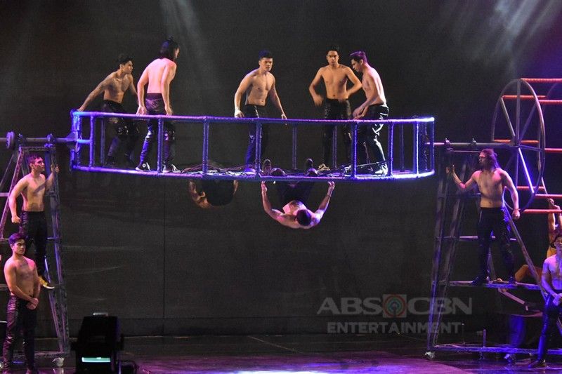IN PHOTOS: Team Anne & Tyang Amy performs shocking stunts on Magpasikat 2019