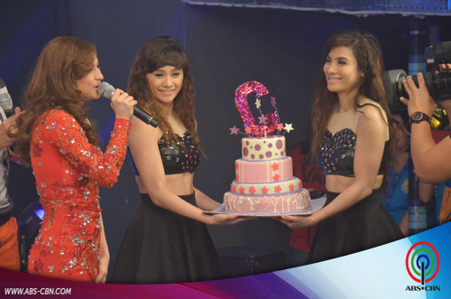 BEHIND-THE-SCENES PHOTOS: Coleen's birthday celebration on It's Showtime