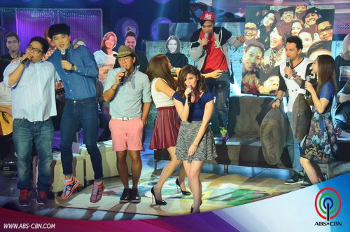 PHOTOS: 2010 Hits jamming with Showtime Family