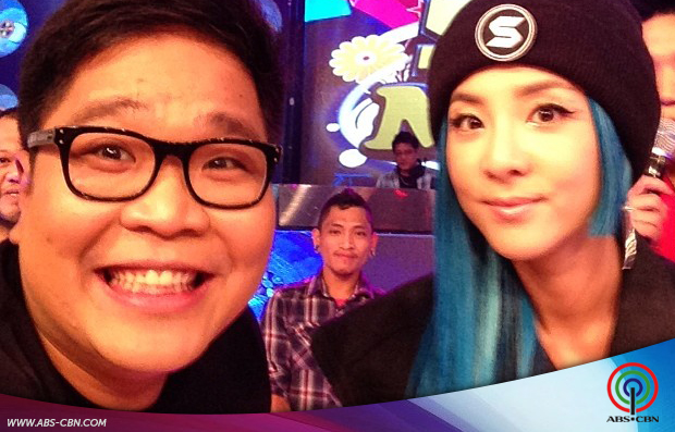 It's Showtime Selfie with Sandara Park
