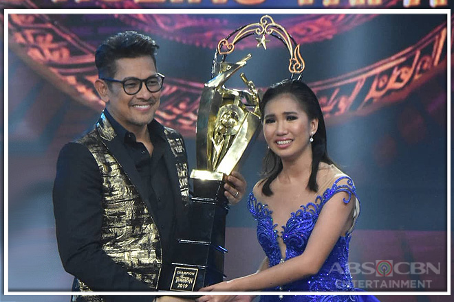 Elaine Duran named TNT Season 3 Grand Champion