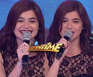 "Anne Curtis returns to ""Showtime"""