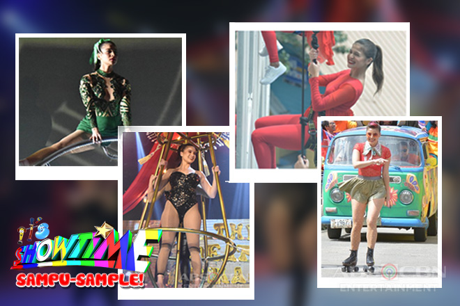 Awe-inspiring, 'buwis-buhay' Magpasikat performances of Anne Curtis through the years