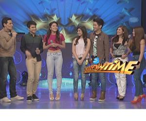Cast ng Nasaan Ka Nang Kailangan Kita bumisita sa It's Showtime Image Thumbnail