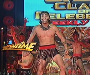 Manuel Chua, literal na pinainit ang Showtime stage sa Haka dance performance niya Image Thumbnail